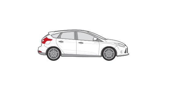 Ford Focus of vergelijkbaar