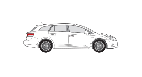 Toyota Avensis Station or similar