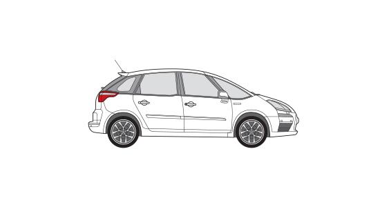 Opel Zafira of vergelijkbaar