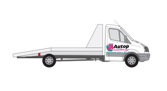 Oprijauto/Autoambulance of vergelijkbaar