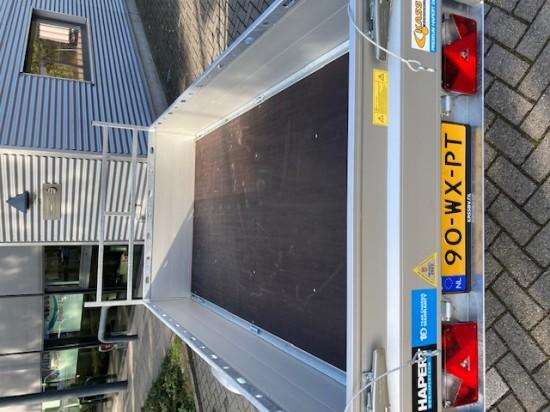 Aanhangwagen met huif 2,5 meter (enkelas) of vergelijkbaar